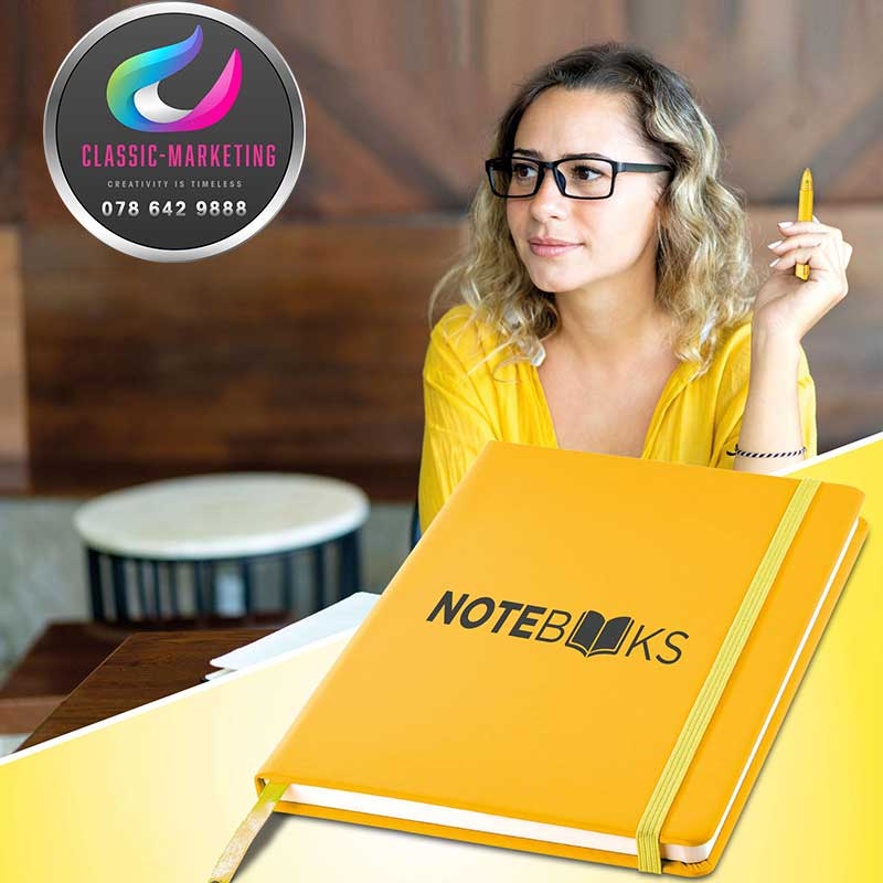 Notebooks Branding And Products